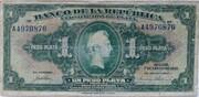 1 Peso Plata – obverse