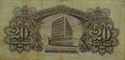 20 Pesos Oro – reverse