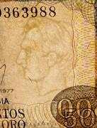 500 Pesos Oro -  obverse