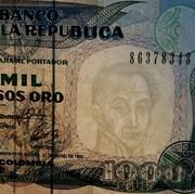 1000 Pesos Oro -  obverse