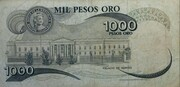 1000 Pesos – reverse