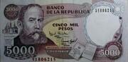 5000 Pesos -  obverse