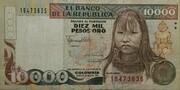 10000 Pesos Oro – obverse