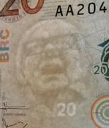 20,000 Pesos -  obverse