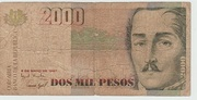 2000 Pesos (Old seal) -  obverse