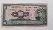 100 Pesos Oro – obverse