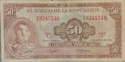50 Pesos Oro – obverse