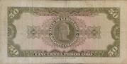50 Pesos Oro – reverse