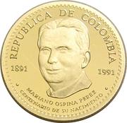 50 000 Pesos (Mariano Ospina Perez) – obverse