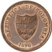 2 Centavos (Antioquia) – obverse