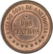 2 Centavos (Antioquia) – reverse