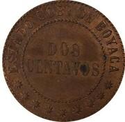 2 Centavos (Boyaca) – reverse