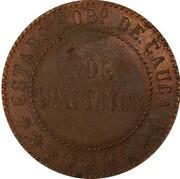 2 Centavos (Cauca) – reverse