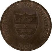 2 Centavos (Santander) – obverse