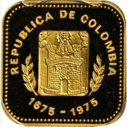 1000 Pesos (300th Anniversary of Medellin) – obverse