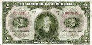 2 Pesos Oro – obverse