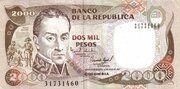 2 000 Pesos -  obverse