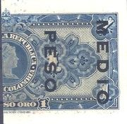 ½ Peso – reverse