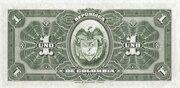 1 Peso Oro – reverse