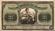 2½ Pesos (Overprint) – obverse