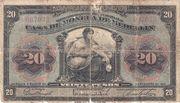 20 Pesos (Overprint) – obverse