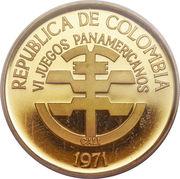 500 Pesos (Pan American Games) – obverse