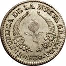 1 Real (Republic of Nueva Granada) – obverse