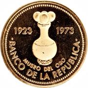 1500 Pesos (Gold Museum of Central Bank of Bogota) -  obverse