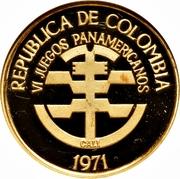 300 Pesos (Pan American Games) – obverse