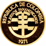 200 Pesos (Pan American Games) – obverse