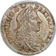 5 Sols - Louis XIV – obverse