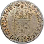 5 Sols - Louis XIV – reverse