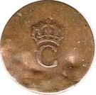 2 Sols - Crowned C – obverse