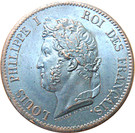 5 Centimes - Louis Philippe I – obverse