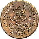 10 Centimes - Louis XVIII (Essai) – reverse
