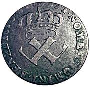 9 Deniers - Louis XV – obverse