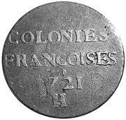 9 Deniers - Louis XV – reverse
