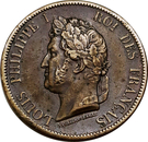 10 Centimes - Louis-Philippe I – obverse