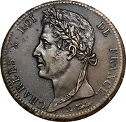 10 Centimes - Charles X – obverse