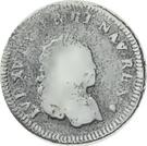 6 Deniers - Louis XV – obverse