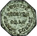 1 Franc (Société Anonyme Token Coinage) – obverse