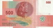 500 Francs -  obverse
