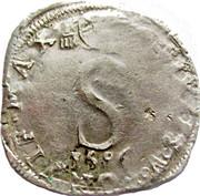 6 White 1586 - Sixtus V - Mint of Avignon (Carpentras) – obverse