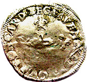 6 White 1586 - Sixtus V - Mint of Avignon (Carpentras) – reverse