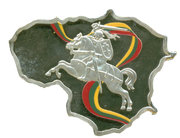 50 Francs CFA (Lithuania) – reverse