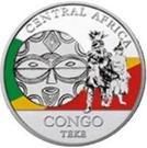 20 Francs CFA (Teke) – reverse