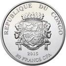 20 Francs CFA (Yupik) – obverse