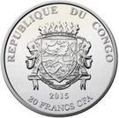 20 Francs CFA (Tenochtitlan) – obverse