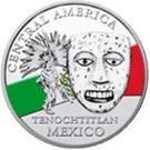 20 Francs CFA (Tenochtitlan) – reverse