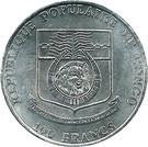 100 Francs CFA (1992 Summer Olympic Games) – obverse